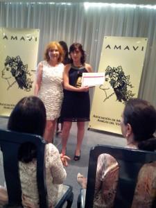 Entrega premio AMAVI