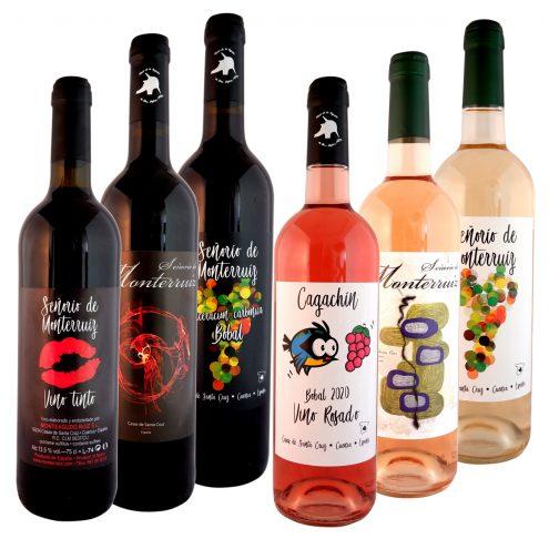 """Pack 6 vinos """"Señorío de Monterruiz"""""""