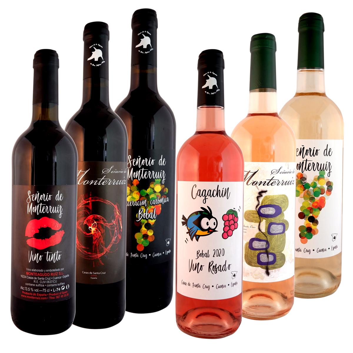 """Pack de 6 Vinos """"Señorío de Monterruiz"""""""