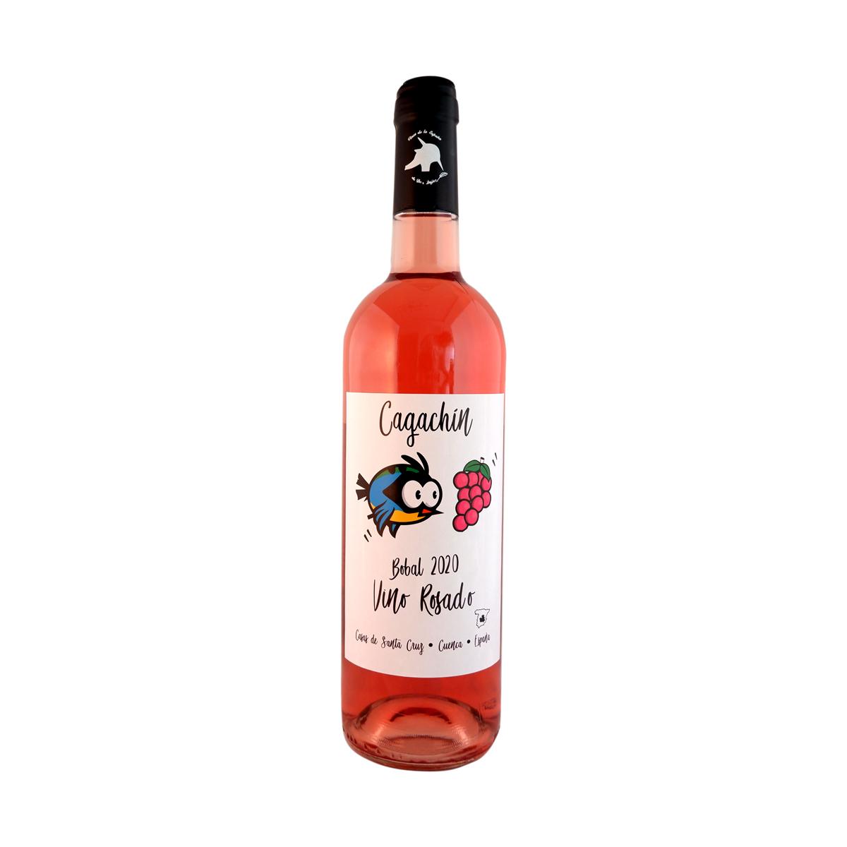 """Vino Rosado 2020 """"Cagachín"""" Tierra de Castilla"""